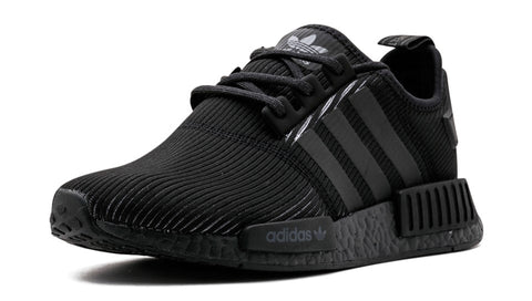 2bc81652a ... how to lace your sneakers swap your shoe laces adidas nmd r1 triple  black