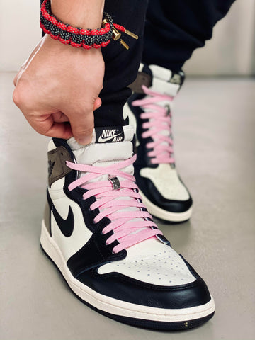 Travis Scott Pink Laces : Where to buy them? | By Slickieslaces