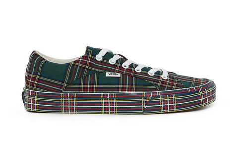 vans opening ceremony plaid pack green