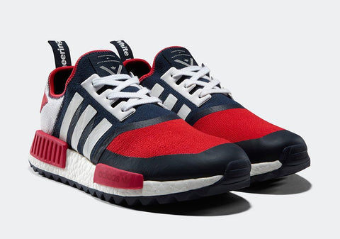 shoelaces recommendations How To Lace Your Sneakers / Swap Your Shoelaces : ADIDAS White Mountaineering X ADIDAS NMD Trail (Navy Blue Red)