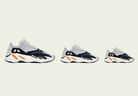 "adidas Yeezy Boost 700 ""Waverunner"" is returning AGAIN in family sizes"