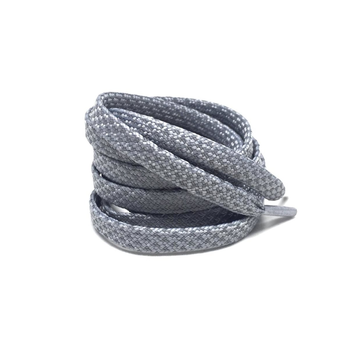 Flat Thin - 3M Reflective Flat Laces - Grey