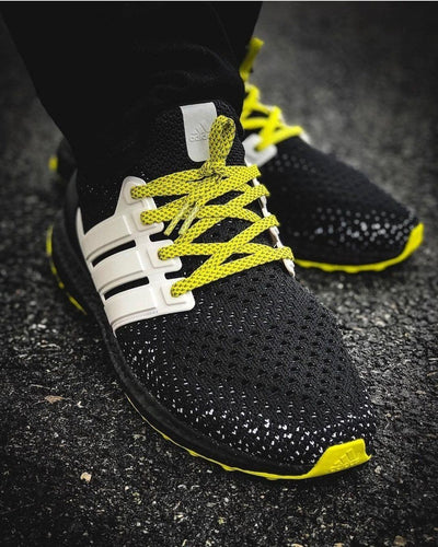 Flat Thin - 3M Reflective Flat Laces - Yellow