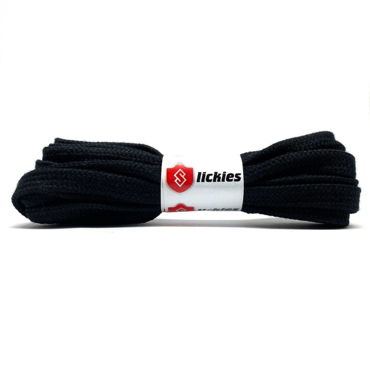 Flat Thin - BASICS Flat Cotton Laces - Black
