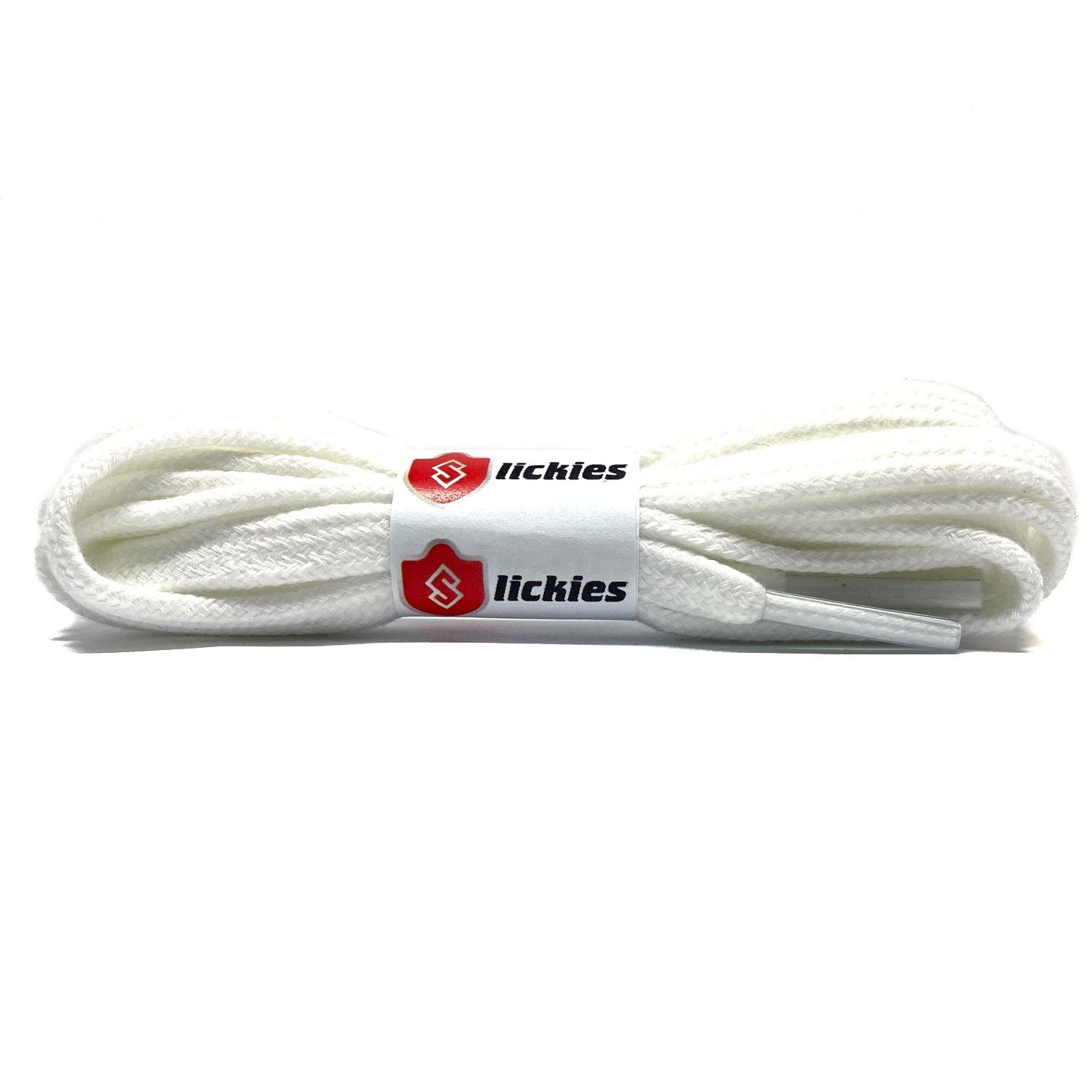 Flat Thin - BASICS Flat Cotton Laces - White