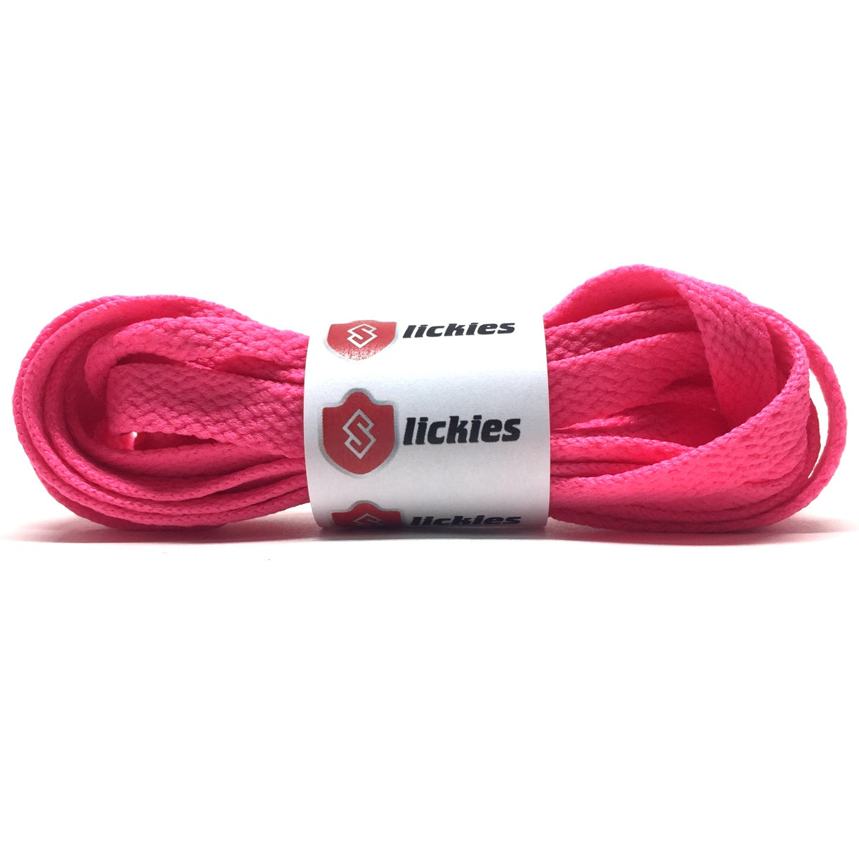 Flat Thin - BASICS Flat Thin Laces - Flash Pink