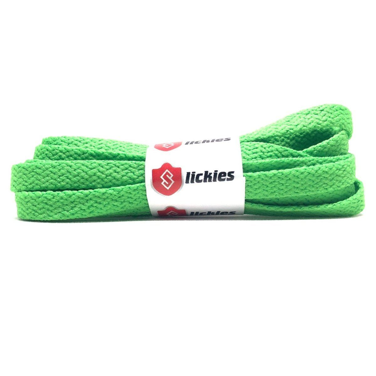 Flat Thin - BASICS Flat Thin Laces - Kiwi Green