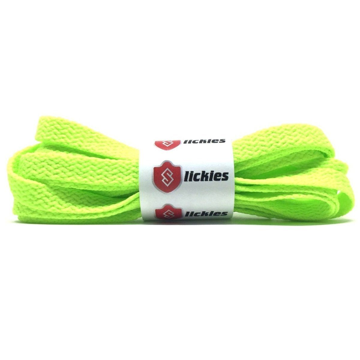 Flat Thin - BASICS Flat Thin Laces - Neon Green