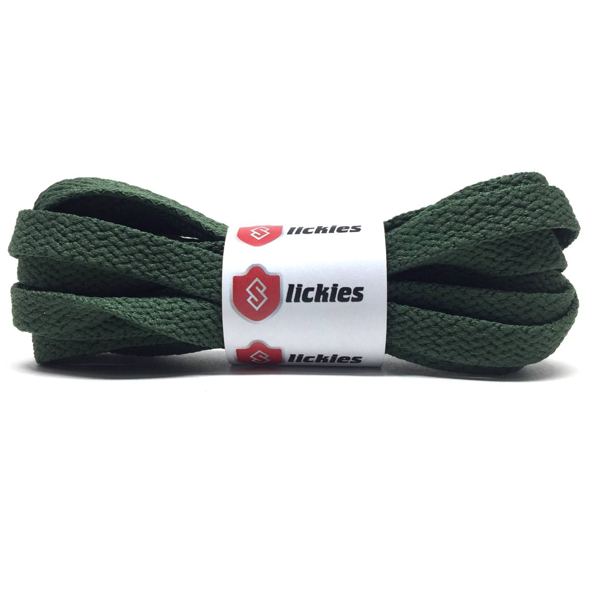 Flat Thin - BASICS Flat Thin Laces - Olive Green