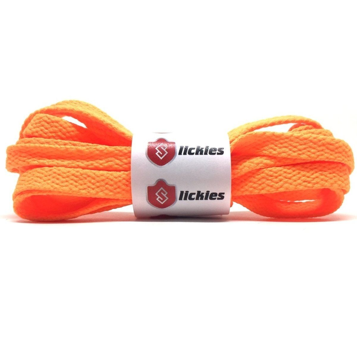 Flat Thin - BASICS Flat Thin Laces - Vibrant Orange