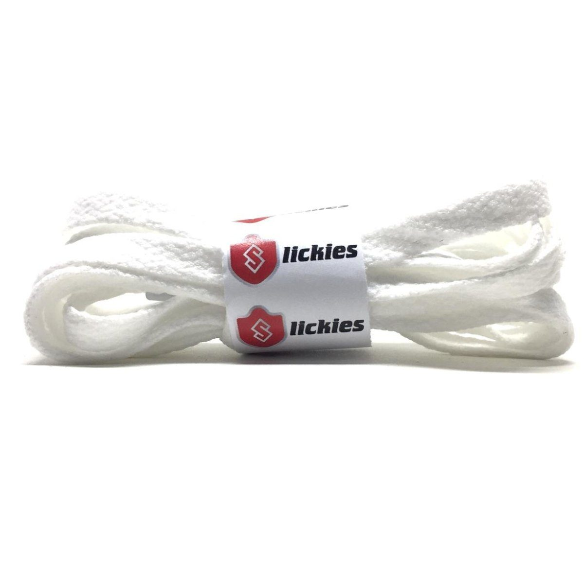 Flat Thin - BASICS Flat Thin Laces - White