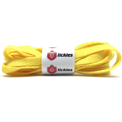 Flat Thin - BASICS Flat Thin Laces - Yellow