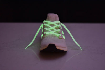Flat Thin - Ultra Boost / NMD BASICS Flat Laces - Glow In The Dark
