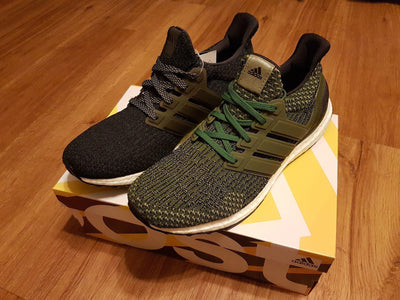 Flat Thin - Ultra Boost / NMD BASICS Flat Laces - Olive Green