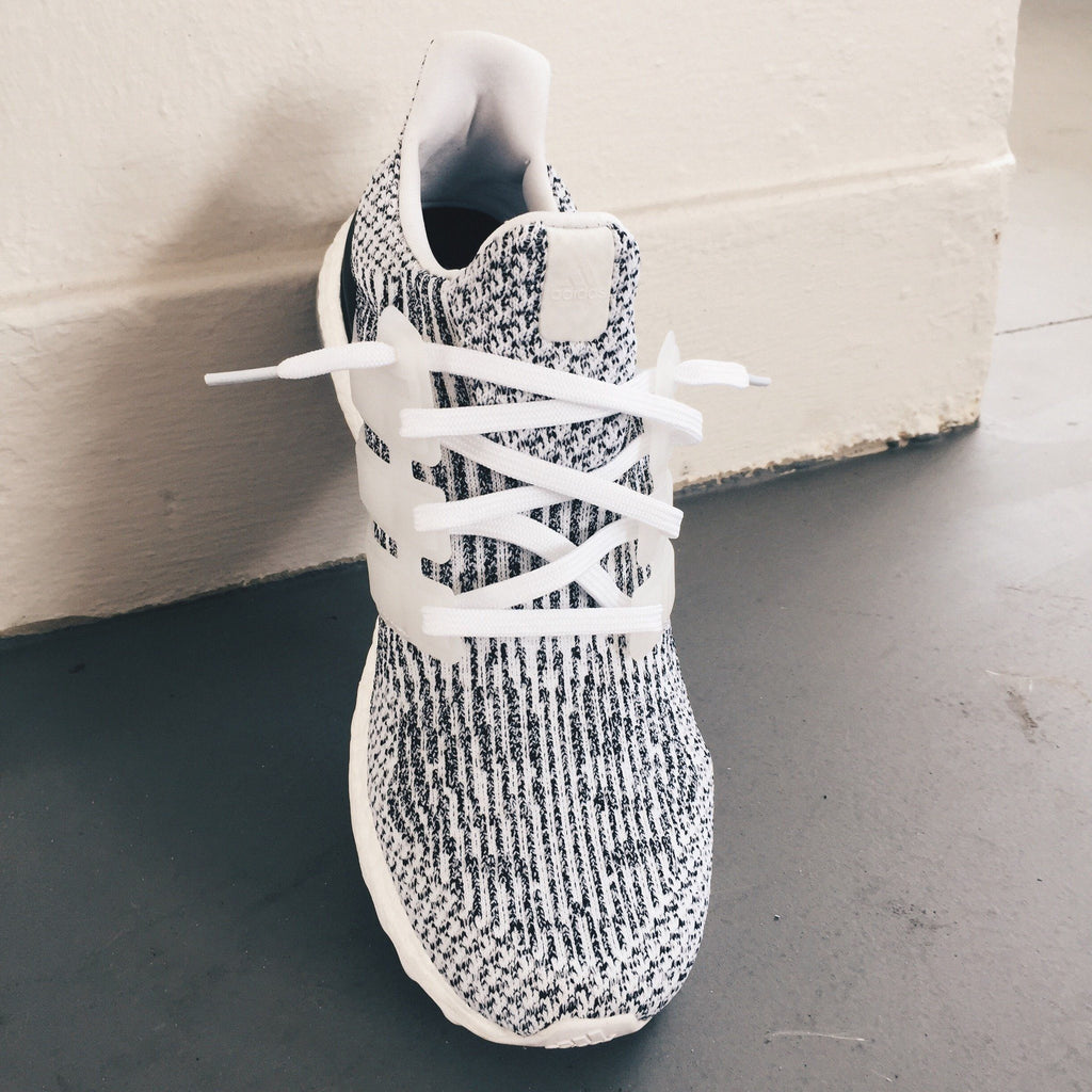 Flat Thin - Ultra Boost / NMD BASICS Flat Laces - White