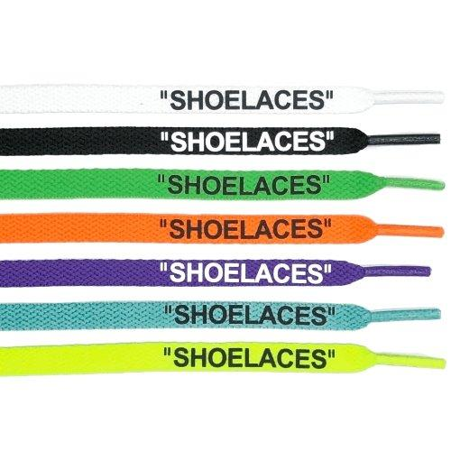 OFF WHITE SHOELACES - OFF-WHITE Shoe Laces - Flat Part 1