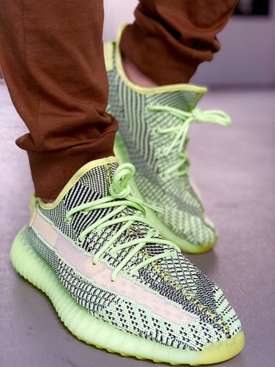 Rope Laces - Basics Rope Laces - Glow In The Dark Green For Yeezy 350 V2 Glow / Yeezreel