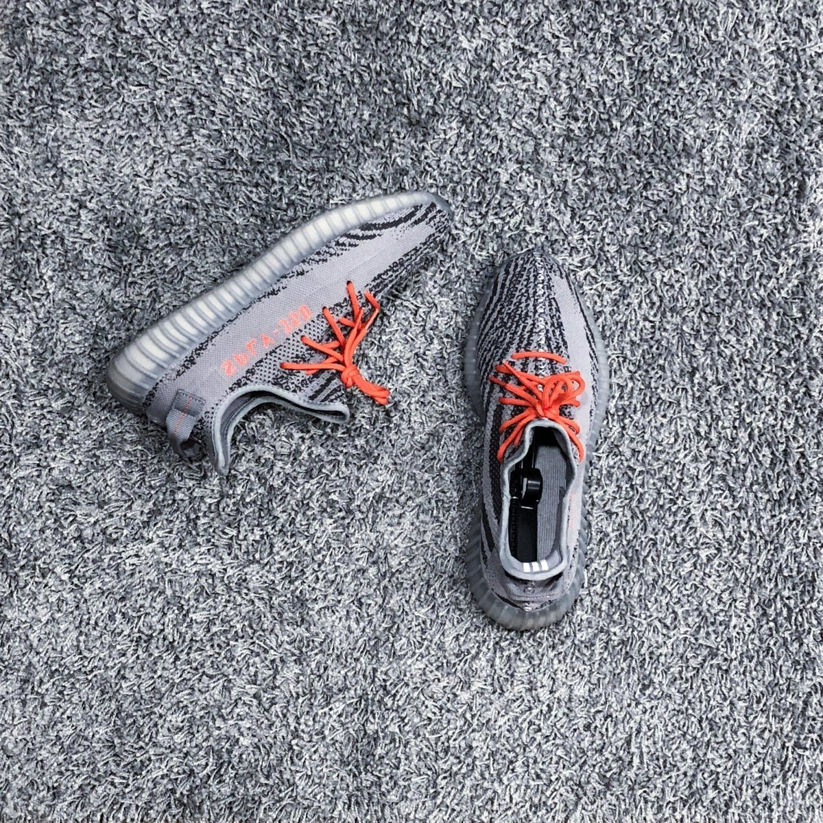 Rope Laces - BASICS Rope Laces - Orange Beluga 2.0 Yeezy Boost 350 V2 653264f9f702