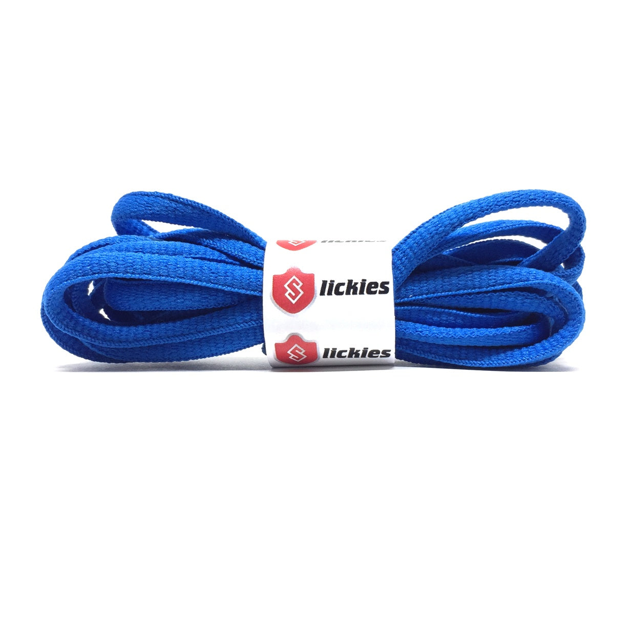 Semi-Circle - BASICS Oval Laces - Blue