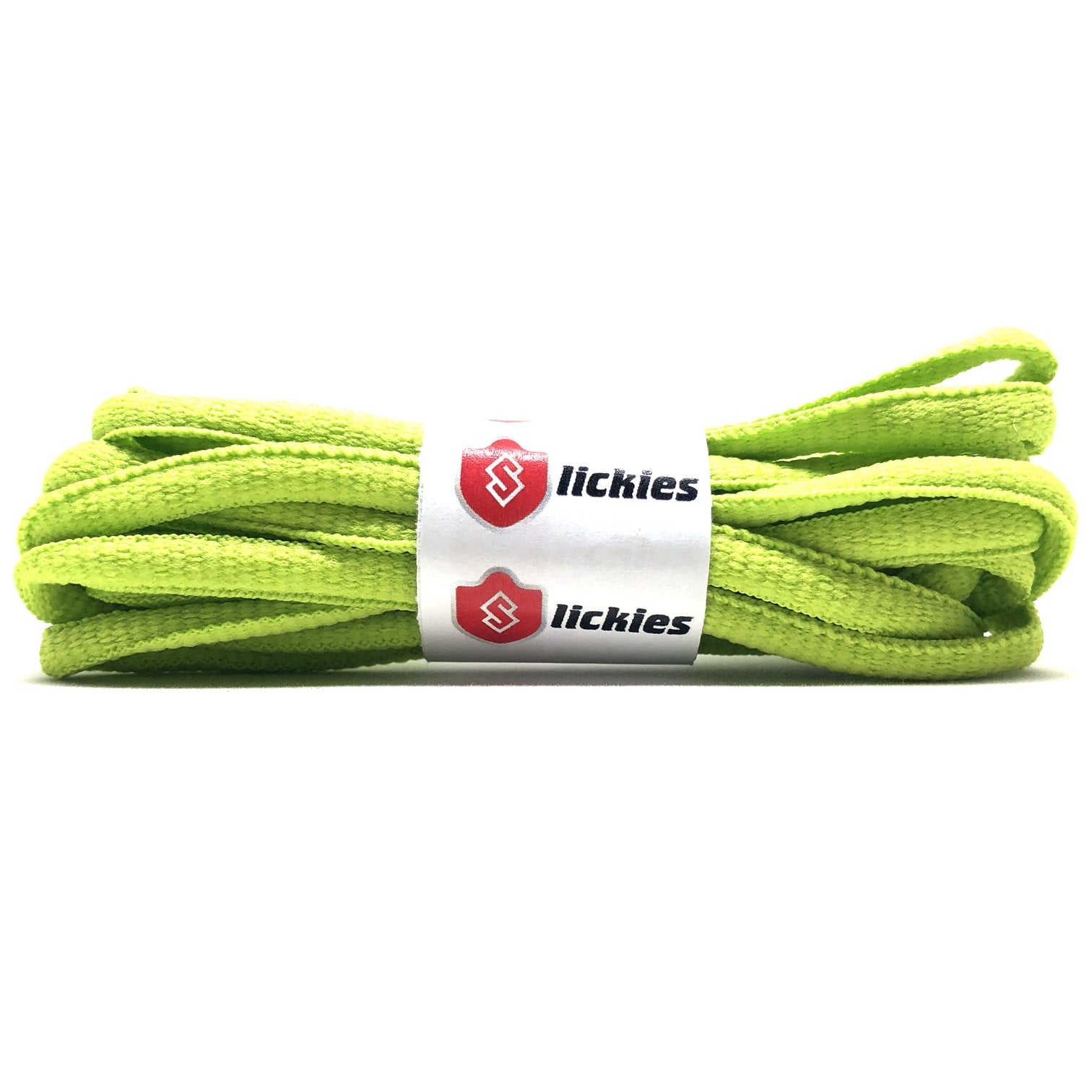 8dda85a59ce9e BASICS Oval Laces - Frozen Yellow - Slickies