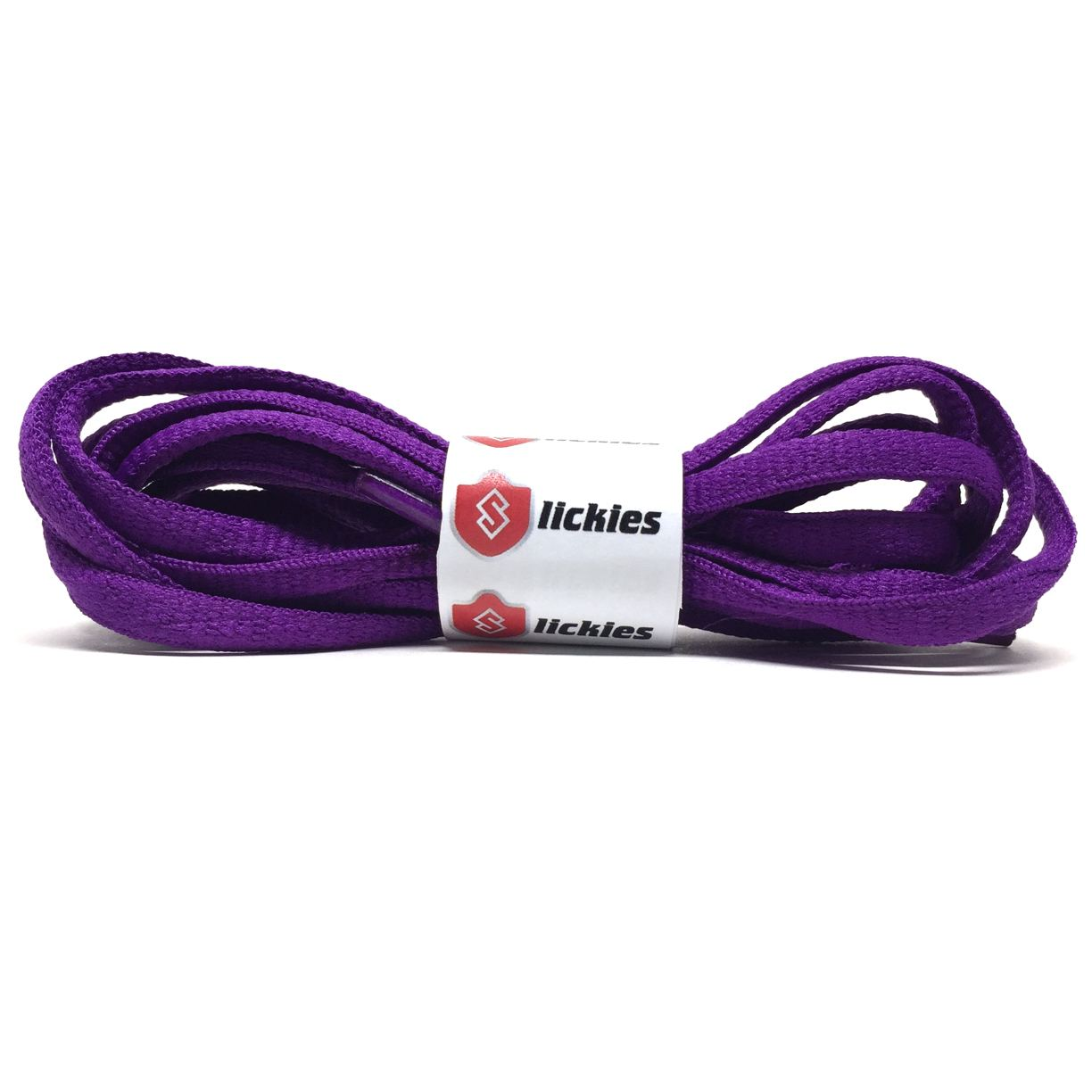 8ee1d0594abef BASICS Oval Laces - Purple - Slickies