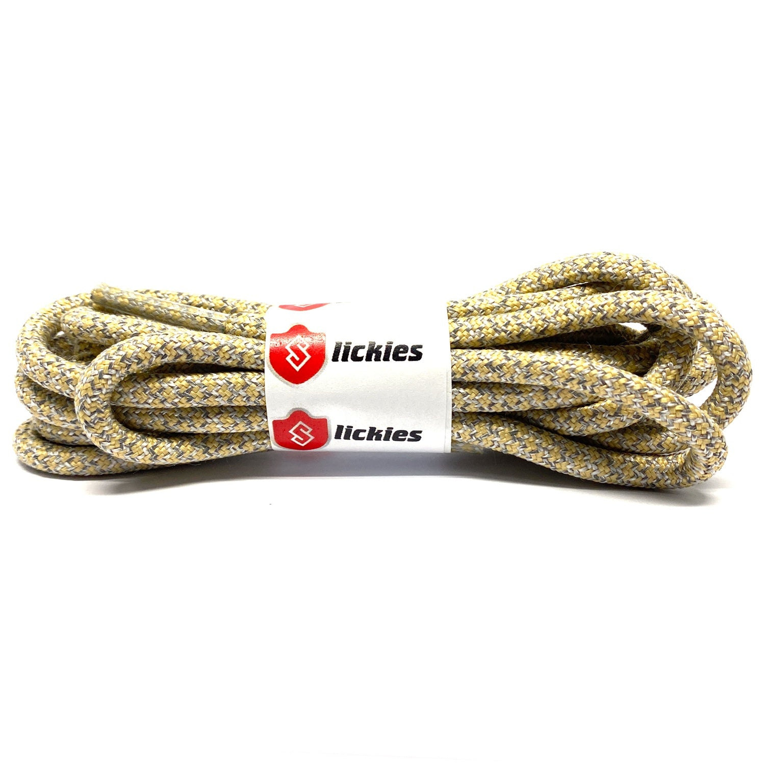 YEEZY 3M - 3M Reflective Rope Laces V2 - Abez / Natural Brown For Yeezy Boost 350 V2 Abez / Natural