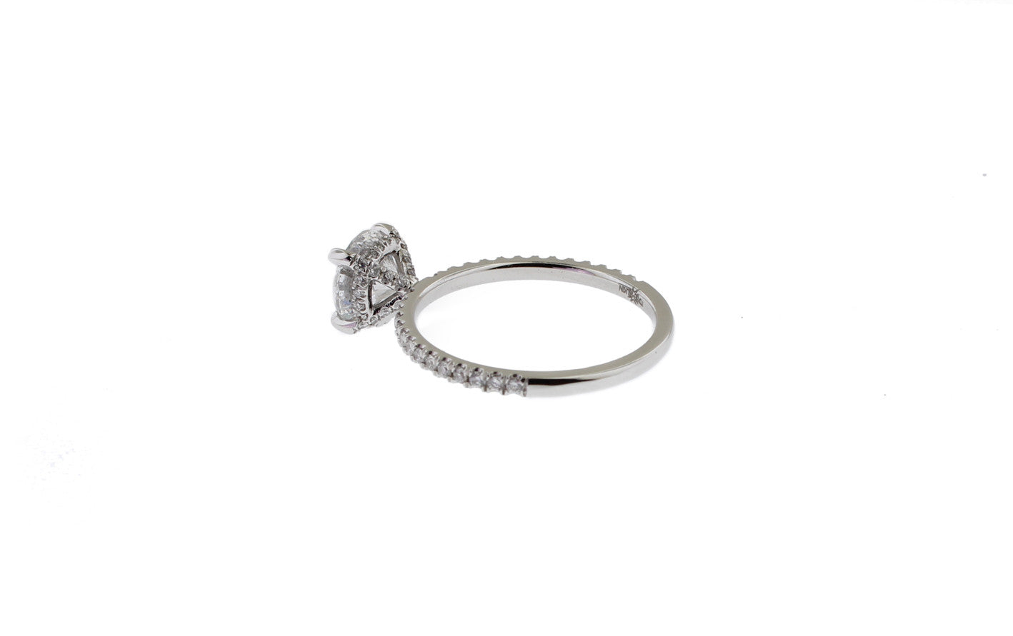 The Sex And City Ring  White Diamond