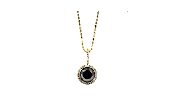 Necklaces itay malkin jewelry black diamond pendant necklace mozeypictures Images