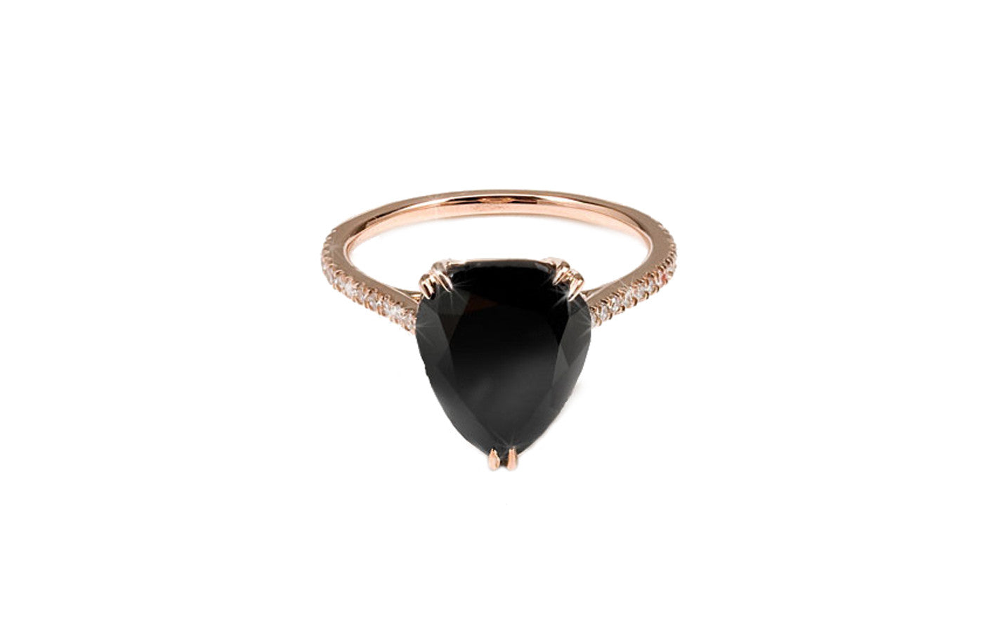 engagement black jewellery oval ring point a studio products no diamond