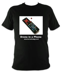 Drone In A Phone tee shirt