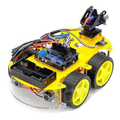 SELF DRIVING CAR KIT - learn about robotics & coding