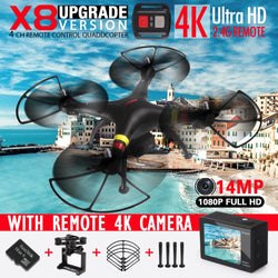 VLOGGING KIT - Affordable Professional Quadcopter with detachable 4K/1080P HD Action Camera