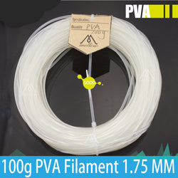 PVA support material - dissolves away in water - 1.75 mm - 100g spool