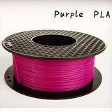 PURPLE 3d printer PLA filament - 1.75mm - 1kg reel