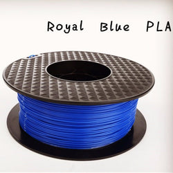 BLUE 3d printer PLA filament - 1.75mm - 1kg reel