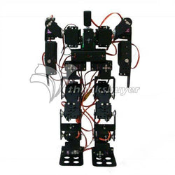 ASSEMBLED Humanoid Robot with 17 degrees of freedom - 25cm high