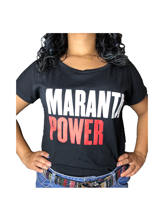 T-Shirt Maranta Power