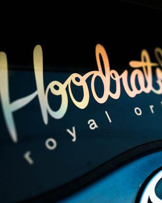 HOODRATstuff/Royal Origin | HOODRATstuff Cursive Decal
