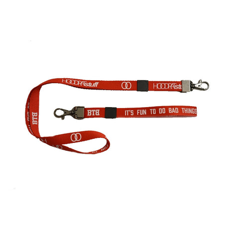 Bad Things Lanyards