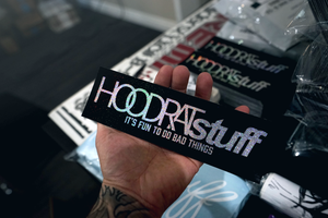 HOODRATstuff | It's Fun To Do Bad Things Box Sticker
