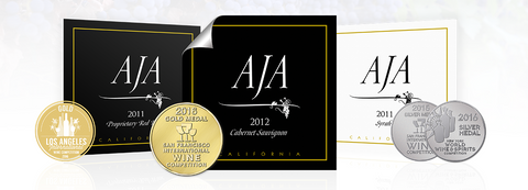 AJA Continues an Impressive Winning Streak with its Award-Winning California Wines, Across Multiple Varietals!