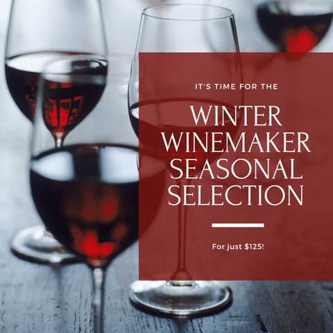 2020/2021 Winter Winemaker Seasonal Selection