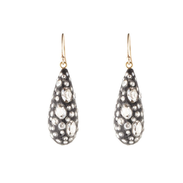 Diamond Dust Dewdrop Earrings