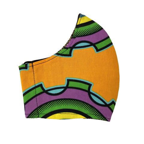 Ankara Fabric Face Masks