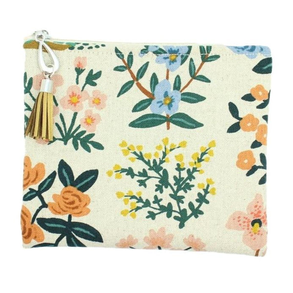 Canvas Small Pouch - Assorted Styles