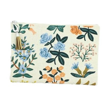 Canvas Wallet Pouch - Assorted Styles