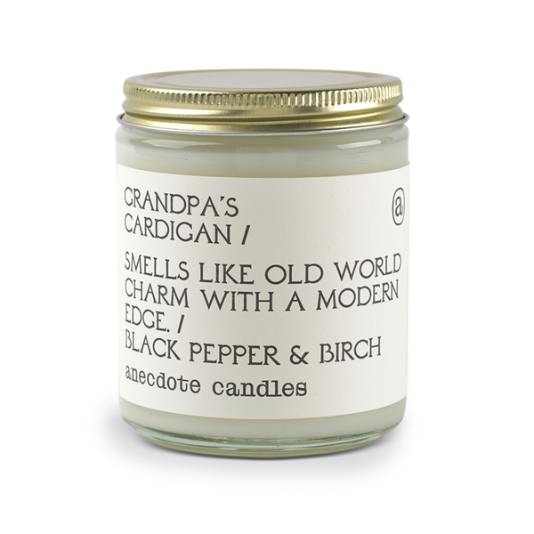 Grampa's Cardigan Candle