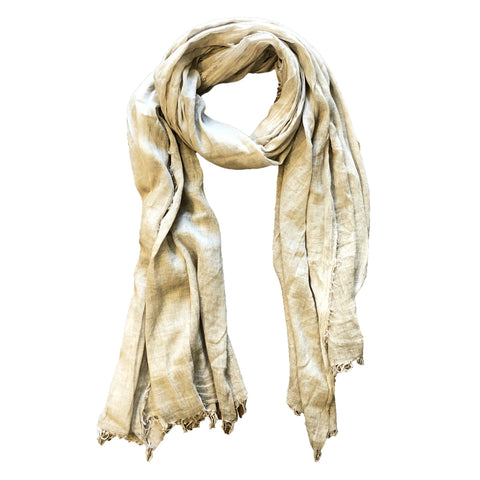 Solid Beige Scarf