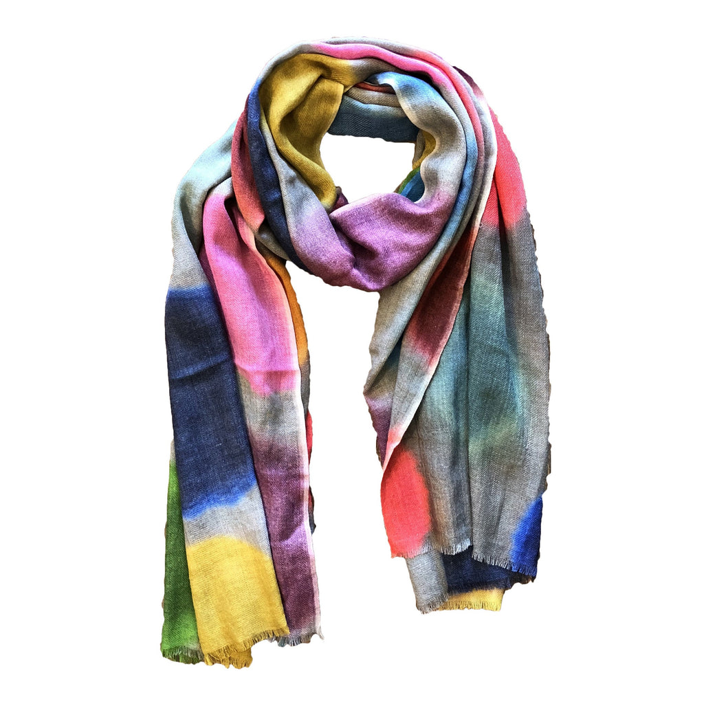 Colorful Circles Scarf