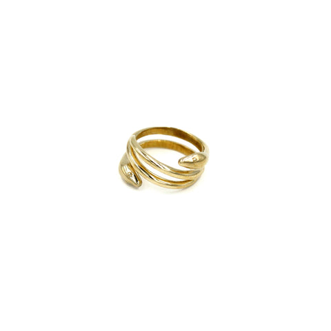 Heads & Tails Snake Ring